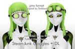 SteamJunk Goggles  for MMD + DL!