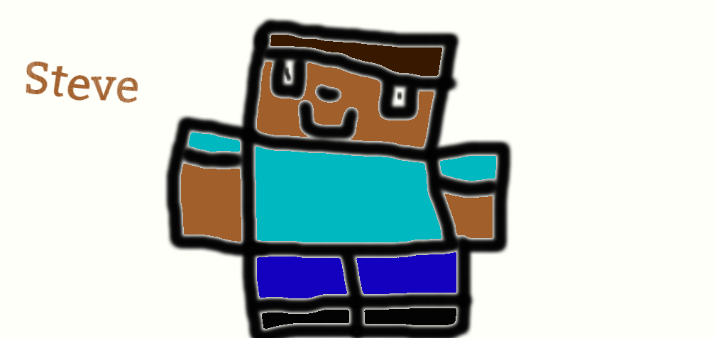 Steve (Minecraft) by CheesyChubb
