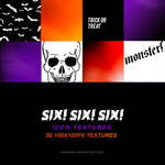 TEXTURES | six! six! six!