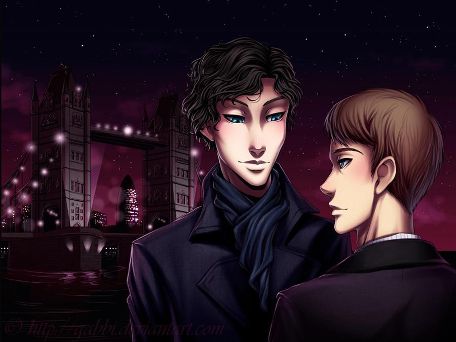Sherlock by Gabbi