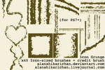 Icon Grunge -PS7 brushset-