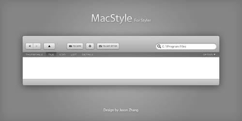 MacStyle_for Styler by zzjbobo