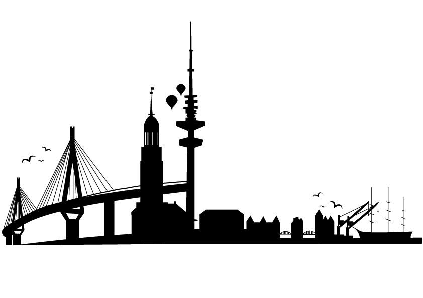 hamburg skyline by ineos on deviantart. Black Bedroom Furniture Sets. Home Design Ideas