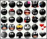 TheBlacy Emoticons for Miranda by JackX
