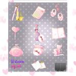 iconos pink en png