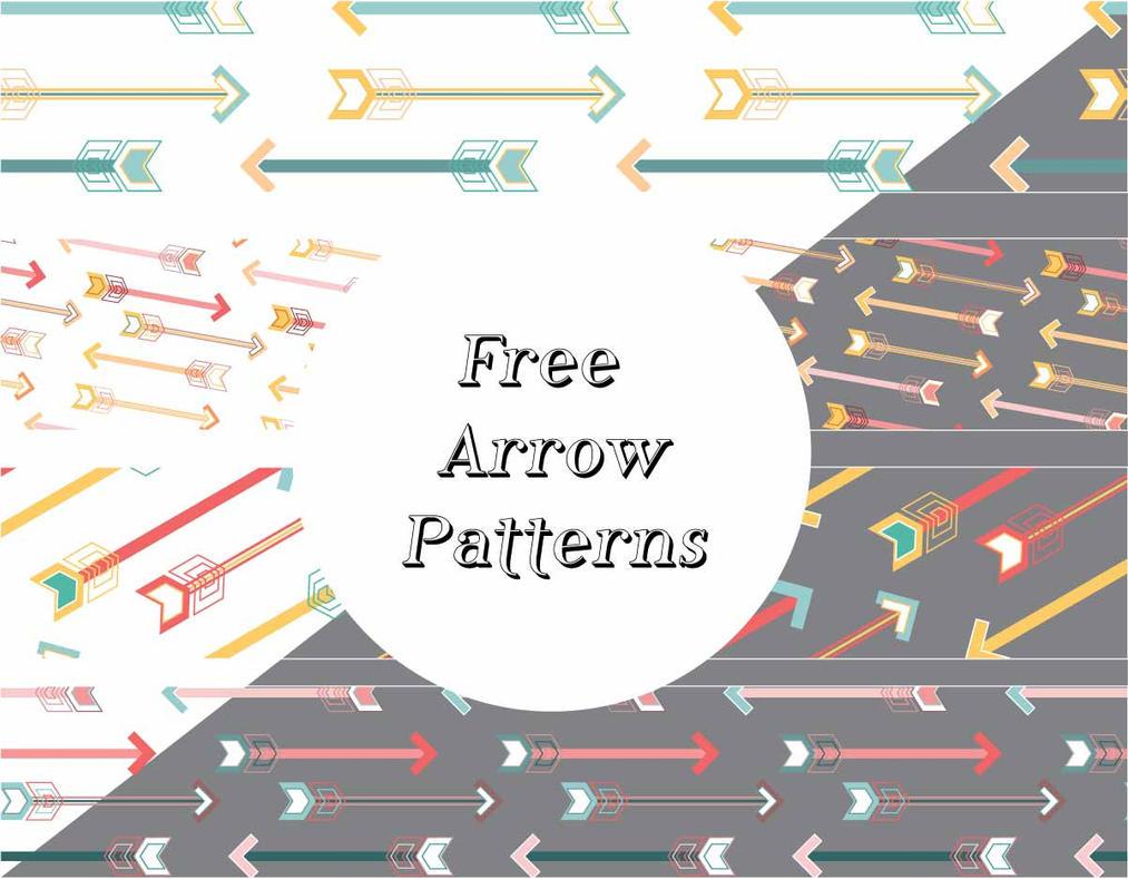 Arrows Pattern by caralinaj