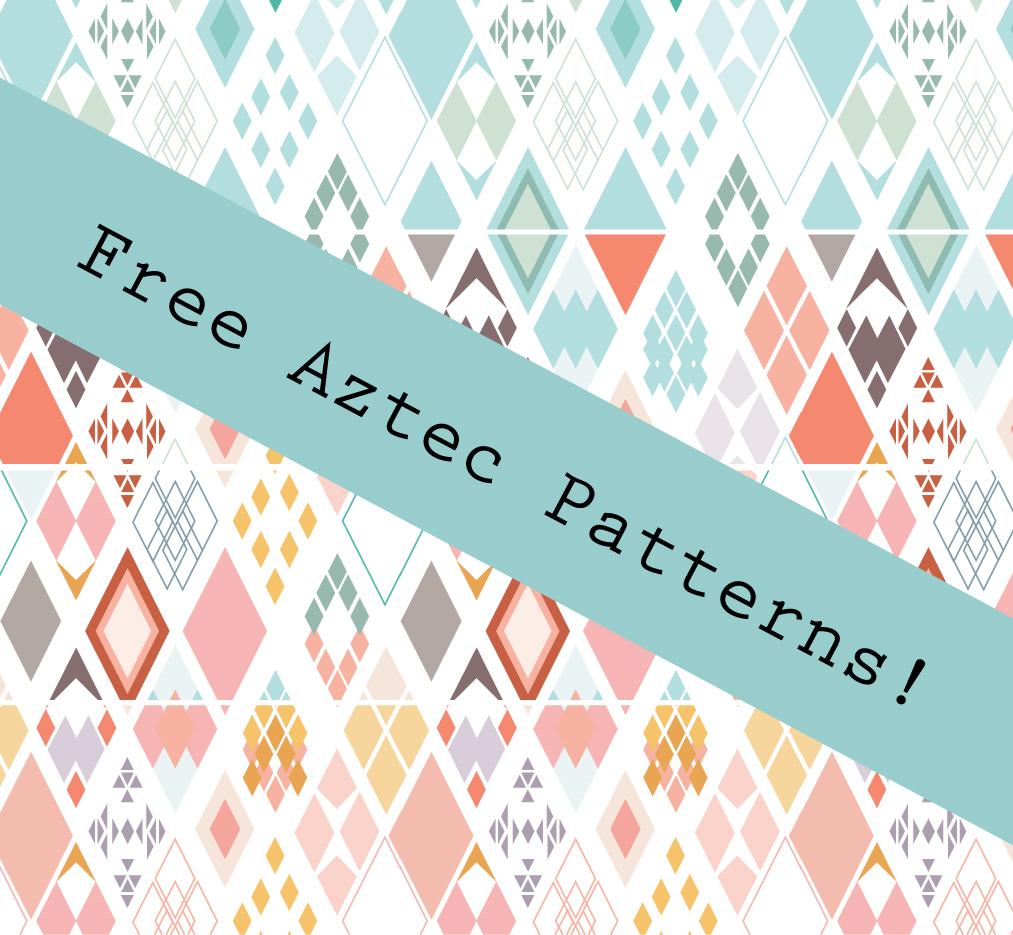 Aztec Pattern By Caralinaj On Deviantart