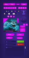 Free Website UI .PSD