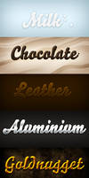 Free Text Effects .PSD