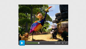 Free Videoplayer .PSD by YesIMaDesigner