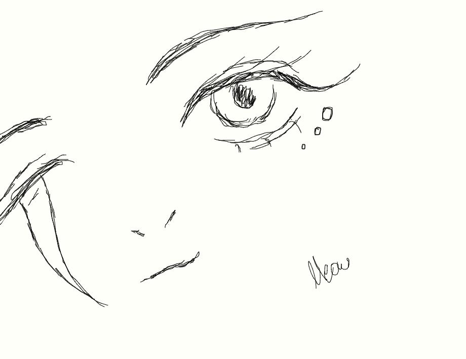Faerie Face Doodle by MasukiaMaru