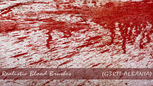 Realistic Photoshop Blood Brushes {G3RTI-ALBANIA}