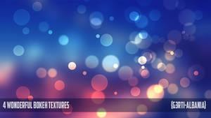 4 Wonderful Bokeh Textures {G3RTI-ALBANIA}