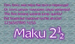 Maku 2.50