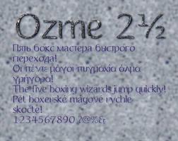Ozme 2.5