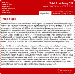 WildStrawberry CSS EasyInstall