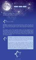 FREE Moon + Stars Journal Skin