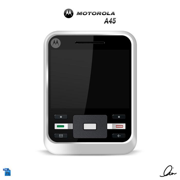 Motorola A45 by RezzF