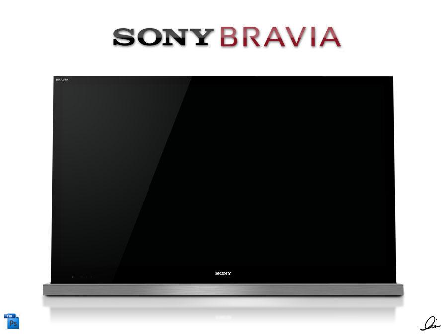 SONY Bravia NX .PSD by RezzF