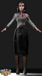 Bioshock Infinite Burial at Sea Elizabeth DMG 3 by FuckYeahKimbra