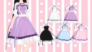 [MMD] Cute Pastel Dress [DL]