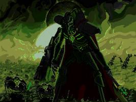 Necron Crypt-world by vertibirdo