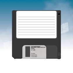 Old Style Diskette by KnightRanger