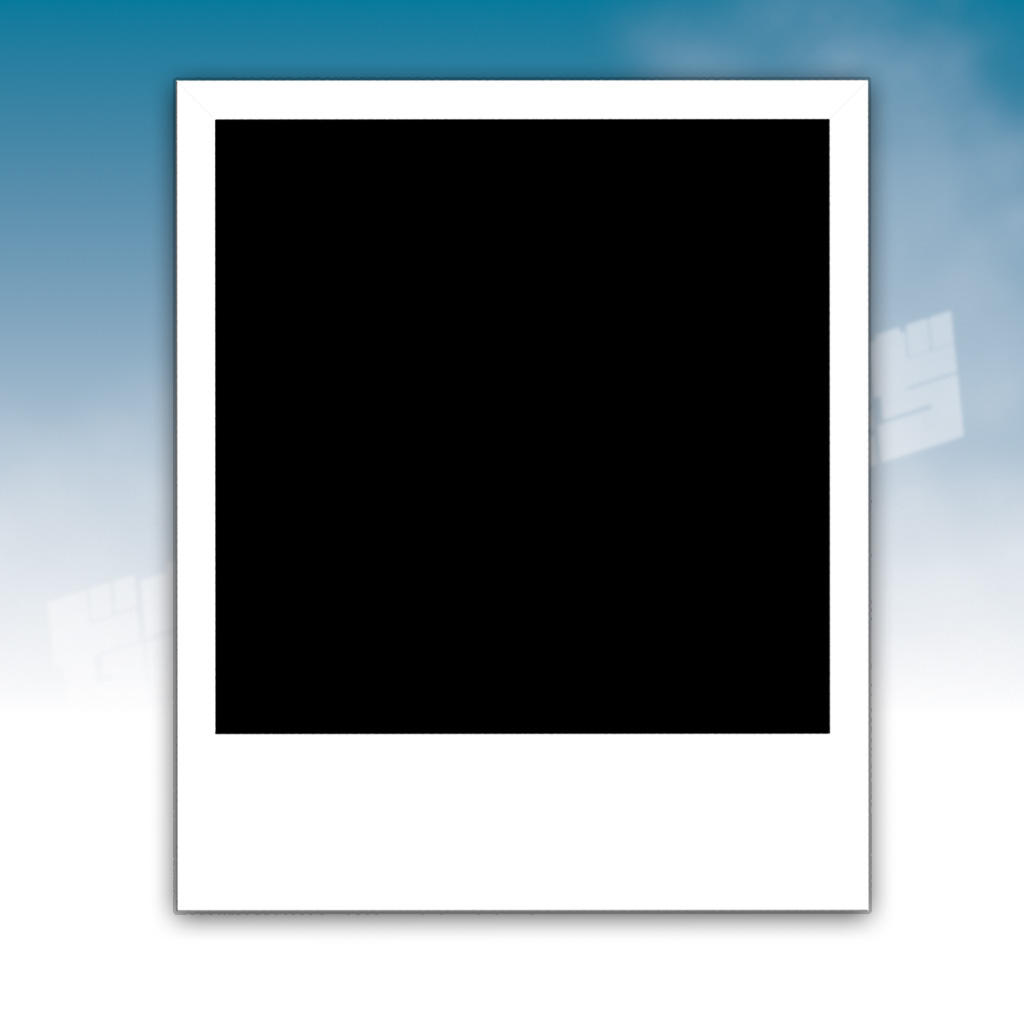 polaroid frame by knightranger on deviantart