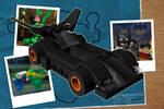 Lego Batmobile Animation