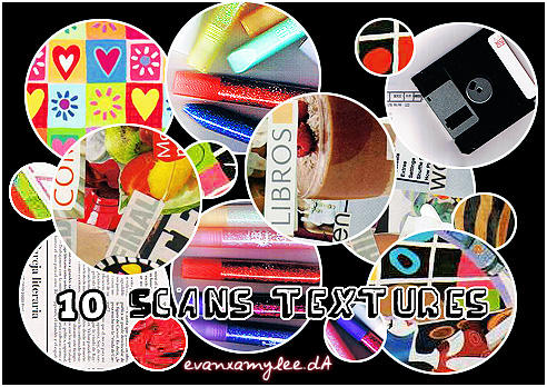 Scan Textures by evanxamylee