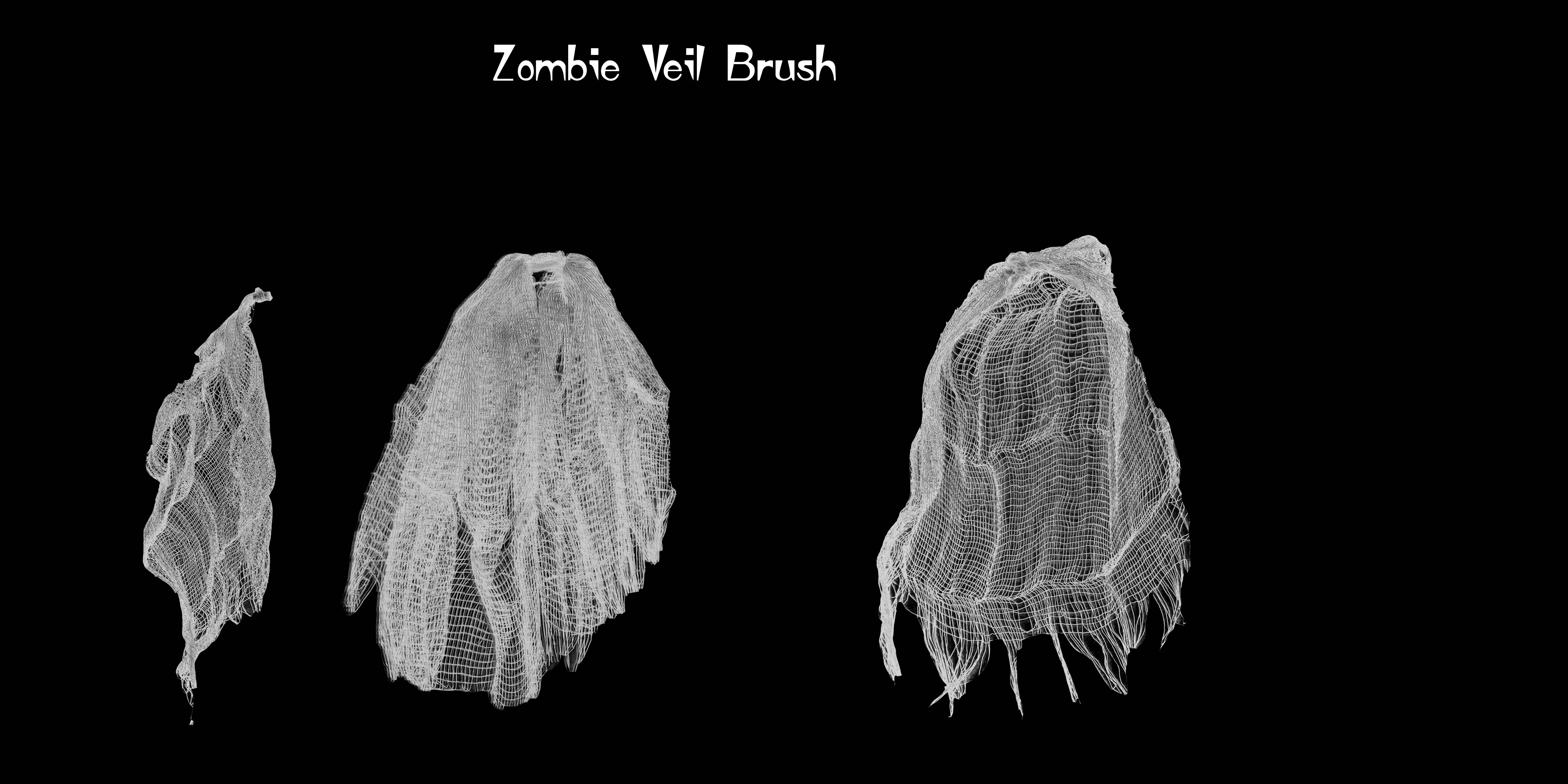 Zombie Veil Brushes