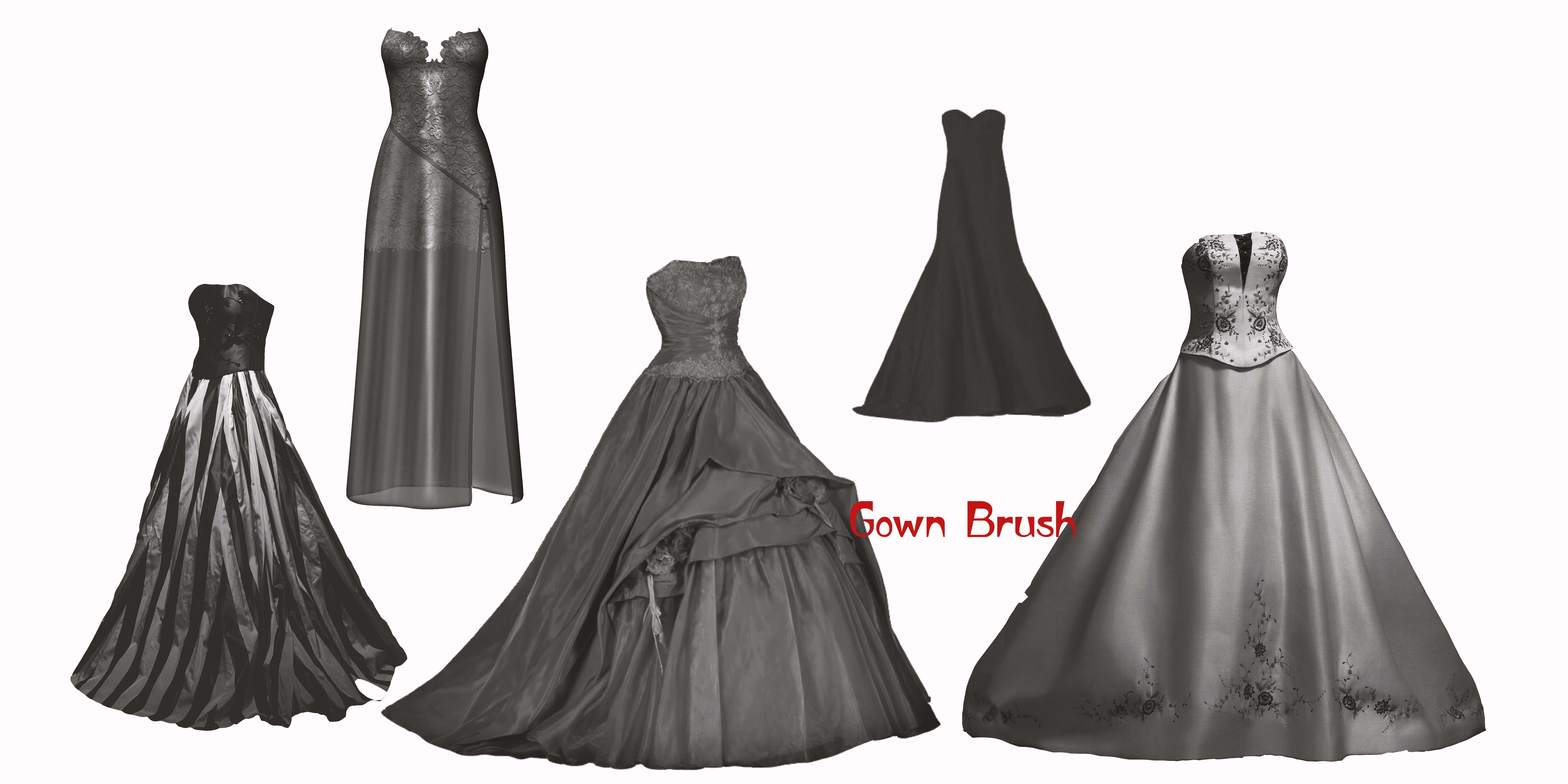 Princess Gown Dresses 3 by farmerstochter