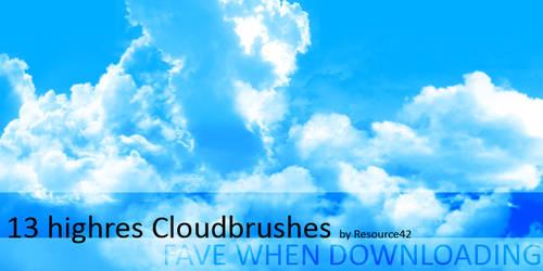 13 cloudbrushes