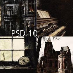 PSD 10 by AlexRow122
