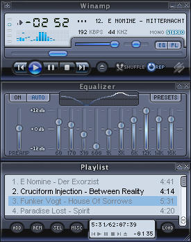 Winamp MP11 by ki-shodar