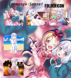 Eromanga-sensei Folder Icon [Pack] by AKurniawanN
