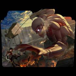 Shingeki No Kyojin Folder icon by AKurniawanN