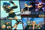 SSF4AE Cammy - Leona's costume MOD v1.5
