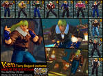SSF4AE KEN Terry 'Mark of the Wolves' costume MOD