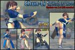 SSF4AE - Chun-Li Kasumi costume MOD ver.2.0