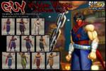 SSF4AE GUY - strider Hiryu costume MOD