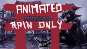 L O N E L Y - animated rain