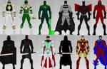 Superhero Creator 2.0: MALE Dress up Game