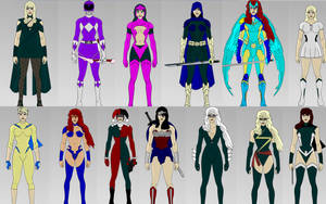 Superhero Creator 2.0: FEMALE Dress up Game