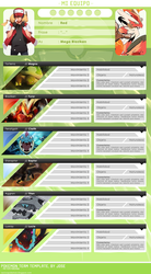 Pokemon Team Template PSD by Jose1208