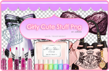 Girly cute stuff png by jurishi on deviantart for Cool girly stuff