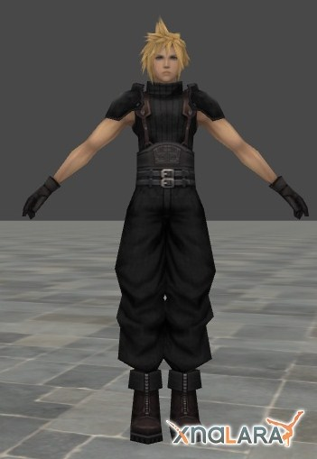 Crisis Core - 1st Class Cloud Strife by xHolyxLightx on DeviantArt