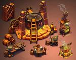 Dungeon-Kitchen Set