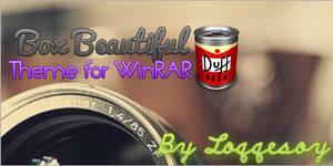 Box Beautiful theme for WinRAR