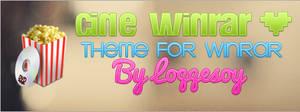 Cine WinRAR theme for WinRAR